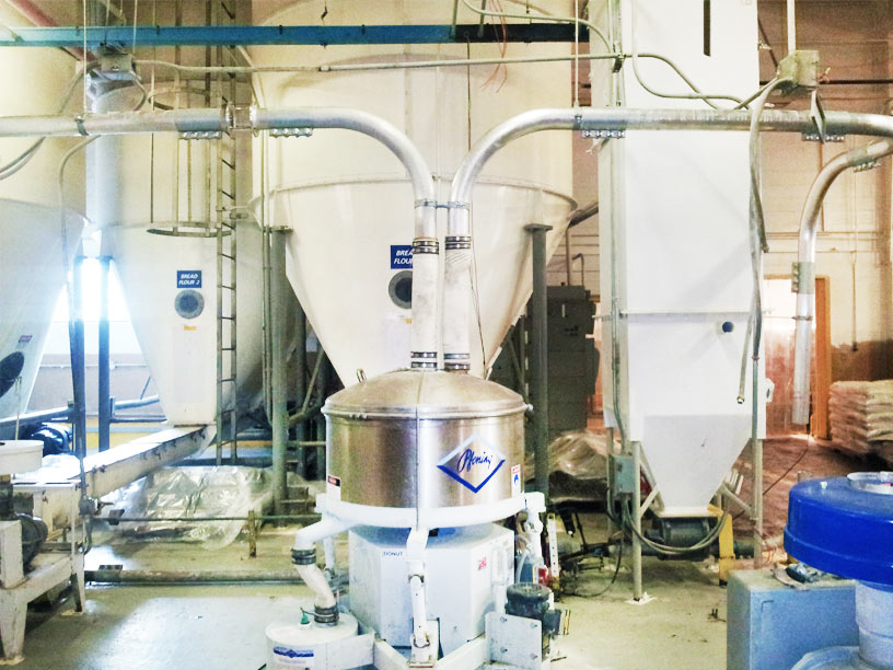 Flour and Sugar Dilute Phase Delivery