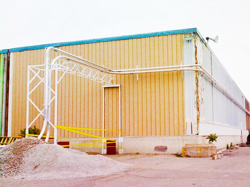 Flour Rail Car Unload System